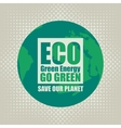 Go Green Eco Recycling vector image