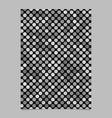 grey dot pattern brochure background - stationery vector image vector image