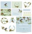 Scrapbook Design Elements - Christmas Theme vector image vector image