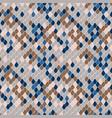 snake skin texture print design seamless pattern vector image
