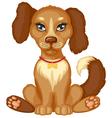 spot dog vector image vector image