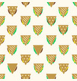 tortilla or sandwich tacos food seamless pattern vector image vector image