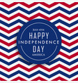 4th of july happy independence day america vector image vector image