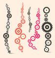 Cogs - Gears Set vector image vector image