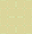 Curved colored lines vector image