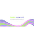 design abstract background header website style vector image vector image