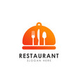 restaurant logo design template restaurant icon vector image vector image