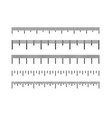 ruler icon vector image vector image
