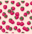 Seamless pattern raspberry