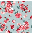 Beautiful Seamless Vintage Background with Roses vector image