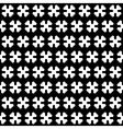 Bone Black and White Seamless Pattern vector image vector image