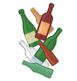 Bottles vector image vector image