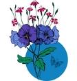 Bouquet vector image