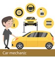 car machanic vector image