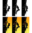 climber school vector image