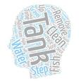 freshwater aquarium care text background wordcloud vector image vector image