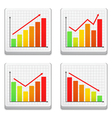 Graphs icons vector | Price: 1 Credit (USD $1)