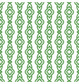 green line geometric seamless pattern vector image vector image