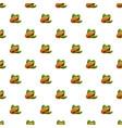 pistachio pattern seamless vector image vector image