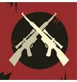 rebel army vector image vector image