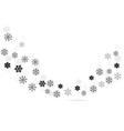 snow dance vector image vector image