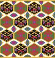 tajik ornaments seamless pattern vector image vector image