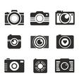 Photocamera Collection vector image