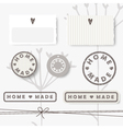 62 6 2016 home made vector image vector image