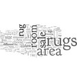 area rugs for sale vector image vector image