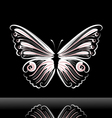 butterfly jig vector image vector image