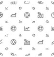 diagram icons pattern seamless white background vector image vector image