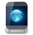 Icon for smartphone vector image vector image