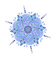 mandala - round ornament traditional vector image vector image