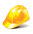 object engineer helmet vector image vector image
