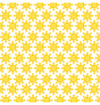 suns summer set pattern background vector image