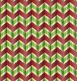 Chevron holiday ribbon vector image