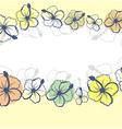 hibiscus flowers vector image