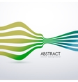 abstract flat lines background for business vector image vector image