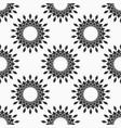 abstract seamless pattern of circle frames vector image vector image