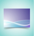 abstract waves set 6 vector image vector image