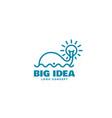 big idea logo vector image vector image
