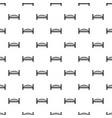 modern arch bridge pattern seamless vector image
