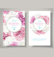 peony tulip banners vector image vector image