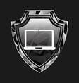 security shield vector image
