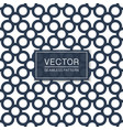 simple seamless geometric pattern blue and white vector image vector image