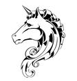 Vintage Horse vector image