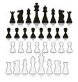 chess symbols vector image