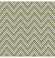 Zig-zag background Seamless pattern vector image