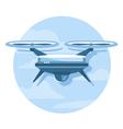 Drone Icon Flat vector image