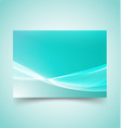 abstract waves set 7 vector image vector image
